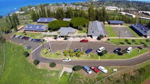 Overhead shot of Maui Preparatory Academy